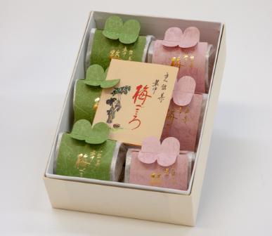 ひかり銘菓 梅ごころ(最中)箱